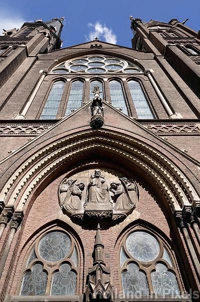 Nederland Delft - Augustus 2018. RK Maria van Jessekerk.   Foto Berlinda van Dam / Hollandse Hoogte