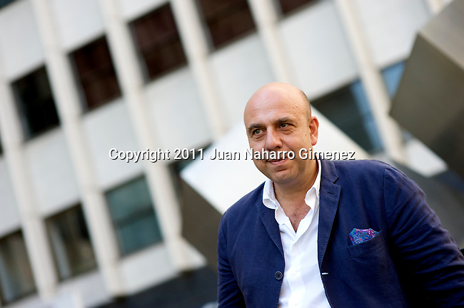 MADRID, SPAIN - JULY 12:  Paolo Virci poses for a portrait sesion in Madrid on July 12, 2011 in Madrid, Spain.  (Photo by Juan Naharro Gimenez)