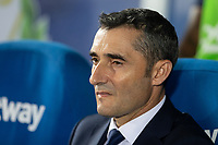 Ernesto Valverde of FC Barcelona during the match between CD Leganes v FC Barcelona of LaLiga, date 6, 2018-2019 season. Municipal de Butarque Stadium. Madrid, Spain - 26 SEP 2018.
