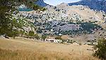 Landscape in Sierra de Grazalema natural park, Cadiz province, Spain