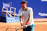 24.04.2013 Barcelona, Spain. Barcelona Open Banc Sabadell. Picture show Rafa Nadal in acton