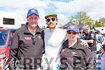 Liz and Timm Clifford Killorglin met Michael Fassbender at the Rally of the Lakes on Sunday
