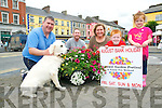 Listowel Garden Festival : Pictured at the launch of Listowel Garden Festival to be held on the August Bank Holiday weekend  on Friday last were Christy Walsh & Bailey, Andy Pierse, Anita Kardol & Daragh Aoife Scanlon.