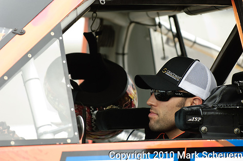 June 12 2010: Aric Almirola during qualifying for the NASCAR Camping World Truck Series VFW 200 at Michigan International Speedway, Brooklyn, Michigan