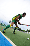 GER - Mannheim, Germany, May 23: During the U16 Boys match between Australia (green) and The Netherlands (orange) during the international witsun tournament on May 23, 2015 at Mannheimer HC in Mannheim, Germany. Final score 7-2 (3-1). (Photo by Dirk Markgraf / www.265-images.com) *** Local caption ***