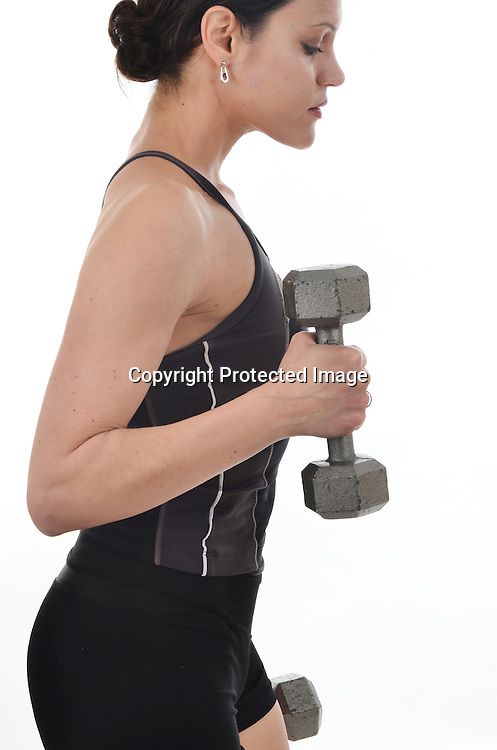 Stock photo working out