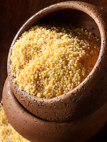 Millet grains stock photos
