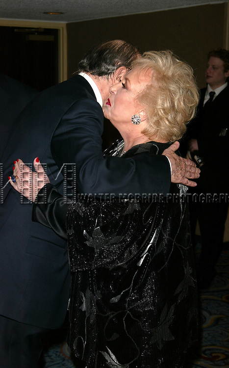 Doris Roberts and Neil Simon Attending the Opening night performance of Neil Simon's THE ODD COUPLE at the Brooks Atkinson Theatre in New York City.<br /> October 27, 2005