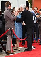 07 January 2019 - Hollywood, California - Bradley Cooper, Lady Gaga, Sam Elliott . Sam Elliott Hand And Footprint Ceremony held at TCL Chinese Theatre. <br /> CAP/ADM/BT<br /> &copy;BT/ADM/Capital Pictures