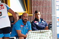 Pepe Reina durante l'amichevole precampionate tra Napoli e Cittadella   Dimaro 29 Luglio 2015<br /> <br /> Friendly soccer match between   SSC Napoli  in Dimaro Italy July 28, 2015