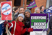 Pensions Justice Nov 30th Strike - March & Rally