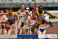 Korene Hinds of Jamaica ran 9:44.04sec in her heat of the 3000m steeplechase at the 11th. IAAF World Championships on Saturday, August 25, 2007.Photo by Errol Anderson,The Sporting Image.
