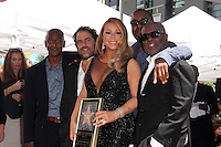 Mariah Carey, Brett Ratner, Lee Daniels, L.A. Reid<br />