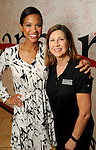 Mia Gradney and Janet McCloskey at the M.D. Anderson Back to School Fashion show at the Galleria Saturday Aug. 06,2016.(Dave Rossman Photo)