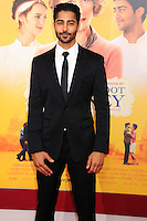 NEW YORK CITY, NY, USA - AUGUST 04: Manish Dayal at the World Premiere Of Dreamworks Pictures' 'The Hundred-Foot Journey' held at Ziegfeld Theatre on August 4, 2014 in New York City, New York, United States. (Photo by Celebrity Monitor)