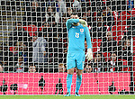England's Tom Heaton looks on dejected after conceding his sides second goal during the friendly match at Wembley Stadium, London. Picture date November 15th, 2016 Pic David Klein/Sportimage