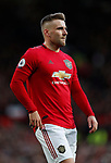 Luke Shaw of Manchester United during the Premier League match at Old Trafford, Manchester. Picture date: 8th March 2020. Picture credit should read: Darren Staples/Sportimage