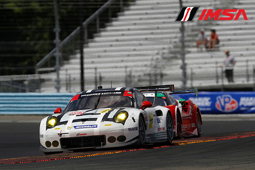 1-3 July, 2016, Watkins Glen, New York, USA<br /> ,912, Porsche, 911 RSR, GTLM, Earl Bamber, Frederic Makowiecki<br /> &copy;2016, Michael L. Levitt<br /> LAT Photo USA