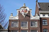 Nederland -  Amsterdam -  2018.   De Oudezijds Voorburgwal. Pand Parys.  Foto Berlinda van Dam / Hollandse Hoogte