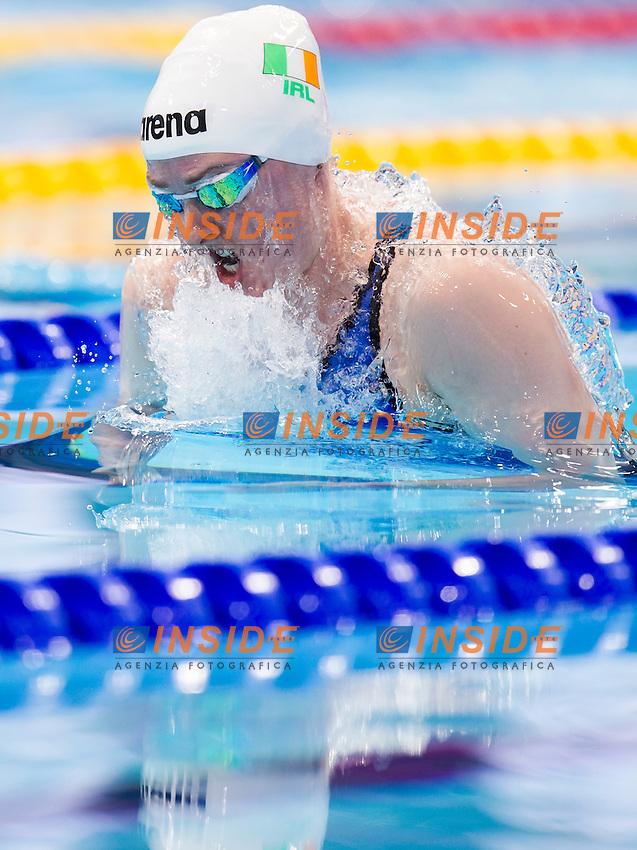 DOYLE Fiona IRL<br /> London, Queen Elizabeth II Olympic Park Pool <br /> LEN 2016 European Aquatics Elite Championships <br /> Swimming<br /> Women's 100m breaststroke semifinal <br /> Day 09 17-05-2016<br /> Photo Giorgio Perottino/Deepbluemedia/Insidefoto