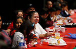 Participants listen to student speakers during the La Posada Celebration at Western Nevada College, in Carson City, Nev., on Saturday, Dec. 15, 2018. <br /> Photo by Cathleen Allison/Nevada Momentum
