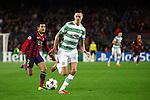 UEFA Champions League 2013/2014.<br /> FC Barcelona vs Celtic FC: 6-1 - Game: 6.<br /> Pedro vs Mikael Lustig.