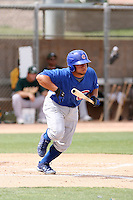 Welington Castillo, Chicago Cubs 2010 minor league spring training..Photo by:  Bill Mitchell/Four Seam Images.