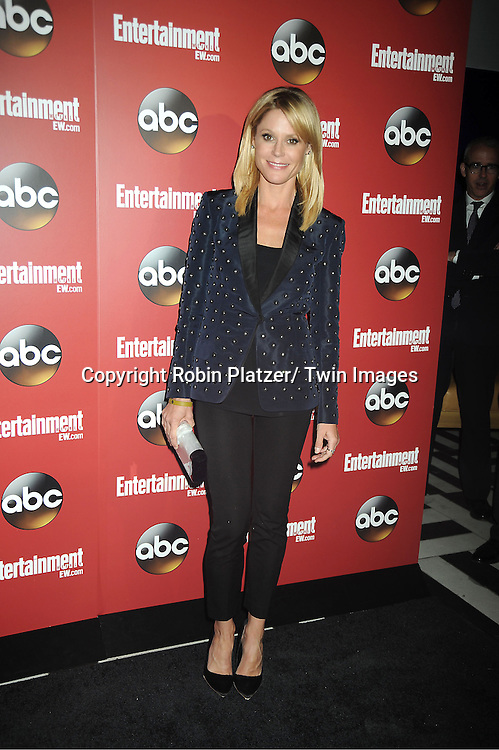 "Julie Bowen of "" Modern Family"" at the Entertainment Weekly and ABC-TV Upfront Party at The General on May 14, 2013 in New York City."