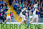 South Kerry in action against Shaun Keane Legion at the Kerry County Senior Football Final at Fitzgerald Stadium on Sunday.