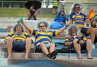 Sevens fans on day two of the 2018 Bayleys National Sevens at Rotorua International Stadium in Rotorua, New Zealand on Sunday, 14 January 2018. Photo: Dave Lintott / lintottphoto.co.nz