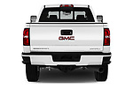 Straight rear view of 2019 GMC Sierra-2500 Denali 4 Door Pick-up Rear View  stock images