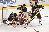 Eric Leroux, Darroll Powe, Ryan Dingle, Paul Stastny, Brett Westgarth - The Princeton University Tigers defeated the University of Denver Pioneers 4-1 in their opening game of the Denver Cup on Friday, December 30, 2005 at Magness Arena in Denver, Colorado.