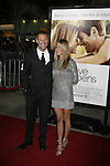 "WESTWOOD, CA. - September 15: Aaron Eckhart and Jennifer Aniston arrive at the Los Angeles premiere of ""Love Happens"" at the Mann's Village Theatre on September 15, 2009 in West wood, Los Angeles, California."