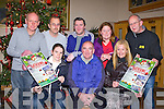 GATHERING: Launching the Kerins O'Rahilly's Ladies Gathering past and present players to held on St Stephen's Day at 12:00pm at the Strand Road clubhouse, Tralee seated l-r: Edel Scannell, Dan Walsh (chairman) and Christina Curtin (secretary). Back l-r: James Hayes (treasurer), Frank McLoughlin, David Collium, Linda Glesson and Tom Tobin.