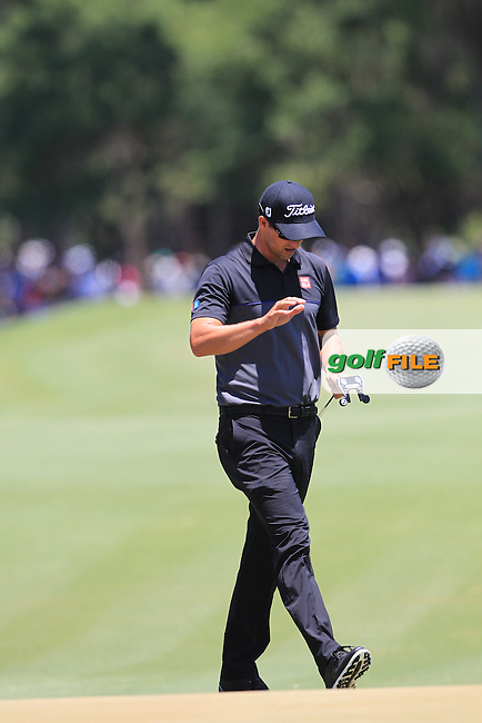 Adam Scott (AUS)  during the Third Round of The Players, TPC Sawgrass, Ponte Vedra Beach, Jacksonville.   Florida, USA. 14/05/2016.<br /> Picture: Golffile | Mark Davison<br /> <br /> <br /> All photo usage must carry mandatory copyright credit (&copy; Golffile | Mark Davison)