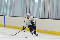 June 28, 2018: Boston Bruins forward Oskar Steen (62) skates during the Boston Bruins development camp held at Warrior Ice Arena in Brighton Mass. Eric Canha/CSM
