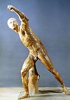 Greek Art:  Gladiateur Borghese.  Louvre.