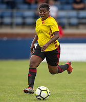 Cherrelle 'Chez' Albert of Watford Ladies during the pre season friendly match between Stevenage Ladies FC and Watford Ladies at The County Ground, Letchworth Garden City, England on 16 July 2017. Photo by Andy Rowland / PRiME Media Images.