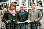 Aine Brennan, Noel Nash, Liam McElligott, Students from ITT  at the  official launch of the Kerry Arts Strategy 2016-2021at the Kerry County Library Tralee on Tuesday