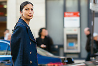 Caroline Issa at Paris Fashion Week (Photo by Hunter Abrams/Guest of a Guest)