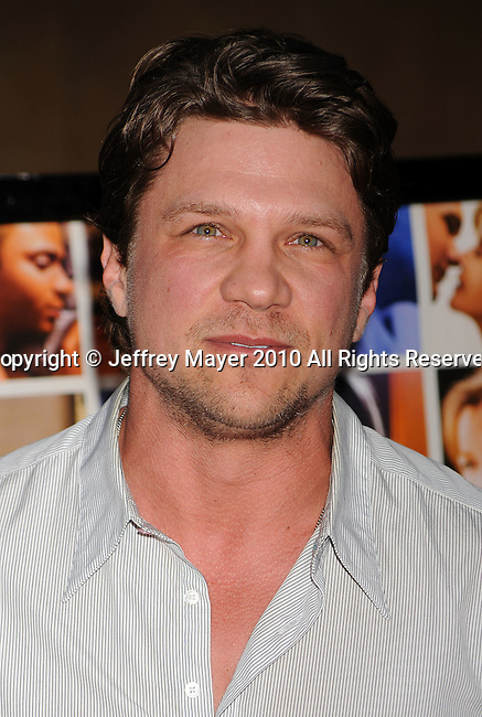 "HOLLYWOOD, CA. - April 19: Mark Blucas arrives at the Los Angeles Premiere of ""Mother And Child"" at the Egyptian Theatre on April 19, 2010 in Hollywood, California."