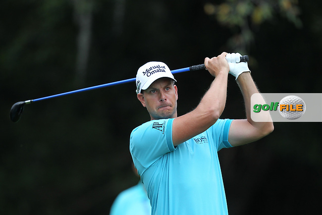 Henrik Stenson of Sweden during the 1st round of the Valspar Championship, Innisbrook Resort (Copperhead), Palm Harbor, Florida, USA<br /> Picture: Peter Muhly / Golffile