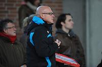 SCHAATSEN: DEVENTER: IJsbaan De Scheg, 27-10-12, IJsselcup, trainer Ron Neymann (Team Telstar/Primagaz), ©foto Martin de Jong