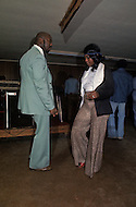 December 1976. Americus, Georgia. On the weekend evenings black people gather in clubs to dance.
