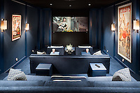 Lucid Blue Home Theater