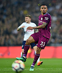 Gabriel Jesus of Manchester City during the premier league match at the Wembley Stadium, London. Picture date 14th April 2018. Picture credit should read: Robin Parker/Sportimage