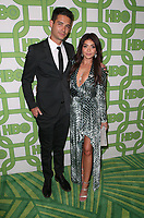 06 January 2019 - Beverly Hills , California - Wells Adams and Sarah Hyland. 2019 HBO Golden Globe Awards After Party held at Circa 55 Restaurant in the Beverly Hilton Hotel. Photo Credit: Faye Sadou/AdMedia