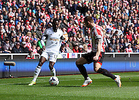 Pictured: Sunday 11 May 2014<br /> Re: Barclay's Premier League, Sunderland v Swansea City FC at the Stadium of Light, Sunderland, UK.