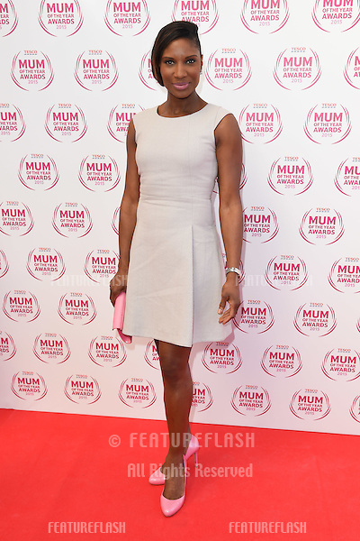 Denise Lewis arriving for the Tesco Mum of the Year Awards 2015 at the Savoy Hotel, London. 01/03/2015 Picture by: Steve Vas / Featureflash