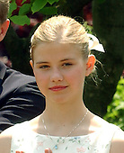 "Washington, DC - April 30, 2003 -- Elizabeth Smart and her parents attend the Rose Garden Ceremony where U.S. President George W. Bush signed the ""Amber Alert"" Bill, in Washington, DC on April 30, 2003...Credit: Ron Sachs"